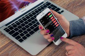 Trading auf dem Smartphone